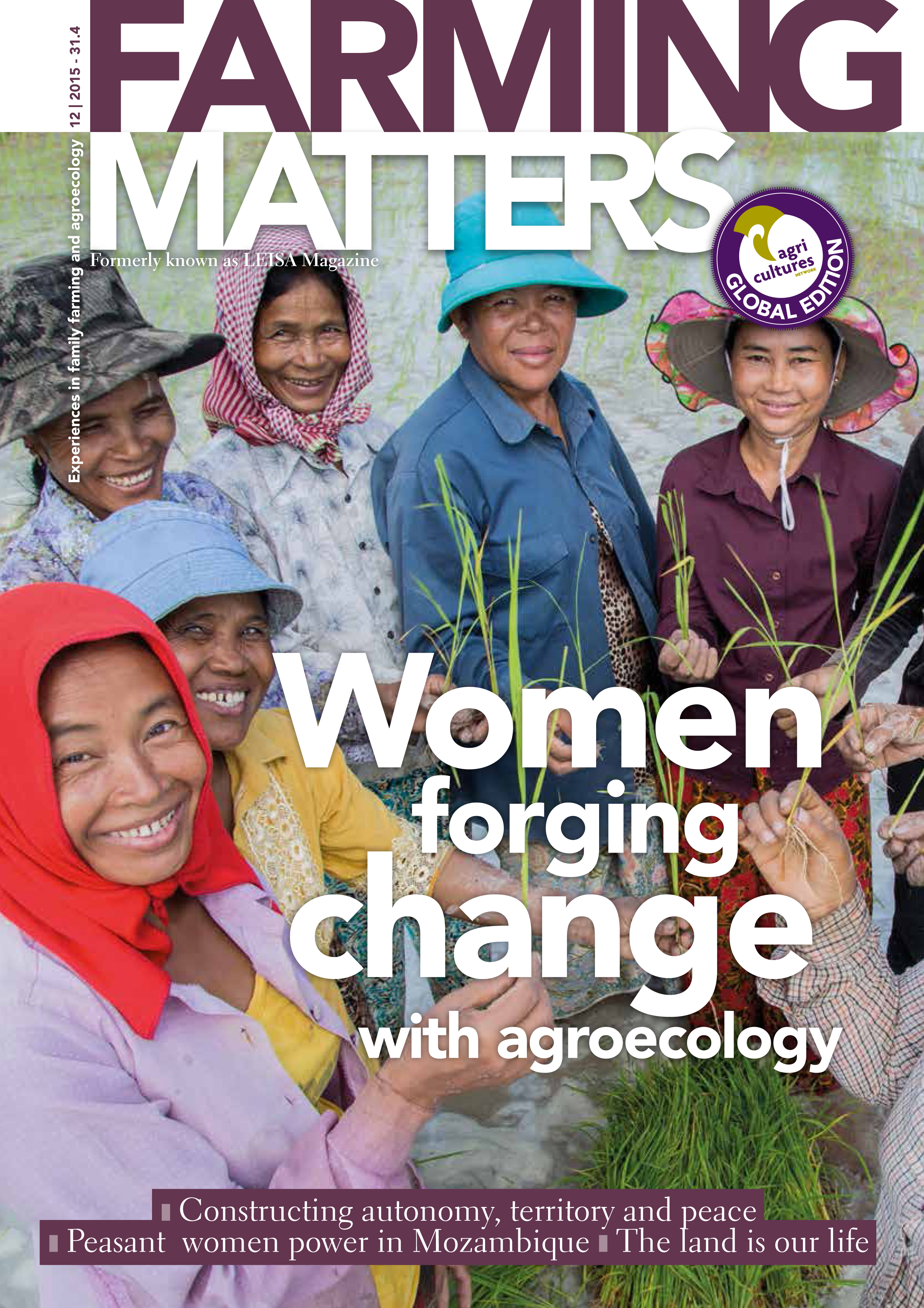 WOMEN FORGING CHANGE WITH AGROECOLOGY