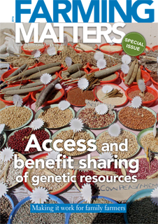 ACCESS AND BENEFIT SHARING OF GENETIC RESOURCES