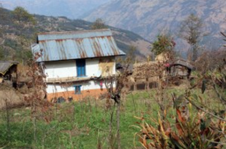 Smallholder farm in the east of Nepal. Photo: R. Vernooy/Bioversity International