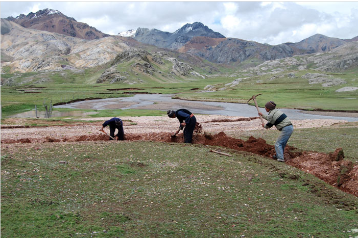Struggle and success in an inter-regional water conflict in the Peruvian Andes