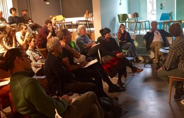 """Workshop: """"Agroecology to feed the world"""". Photo: People's Assembly"""